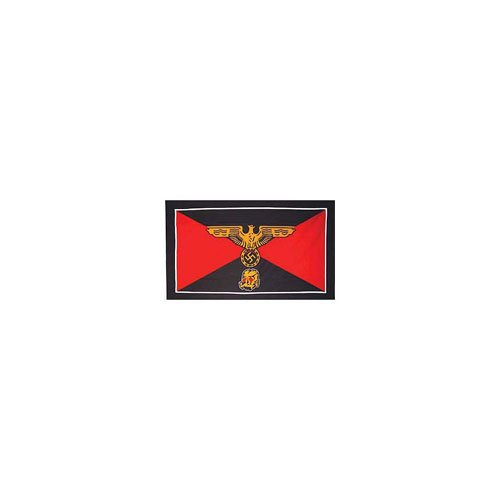Flag WWII Germ SS Danzigs 3Ftx5ft