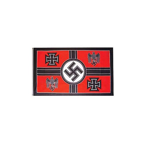 Flag WWII Germ Crosss EGL 3Ftx5ft