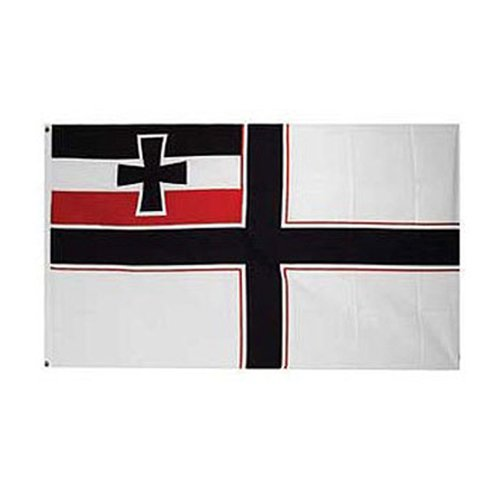 Flag Germ WWI Jack SML 3Ftx5ft