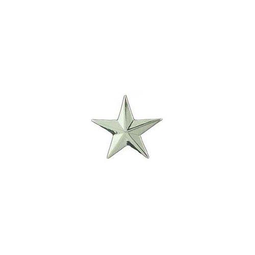 1 Inch C1 Silver General Star Army Rank