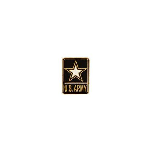 Pin Army Logo U.S. 1 Inch
