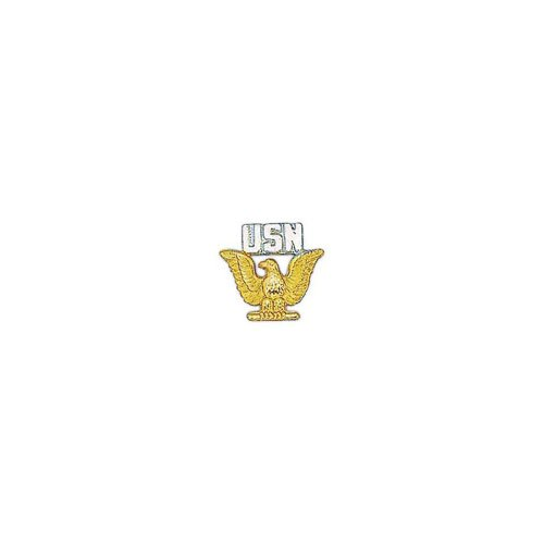 Pin USN Enlisted GLD And SLV