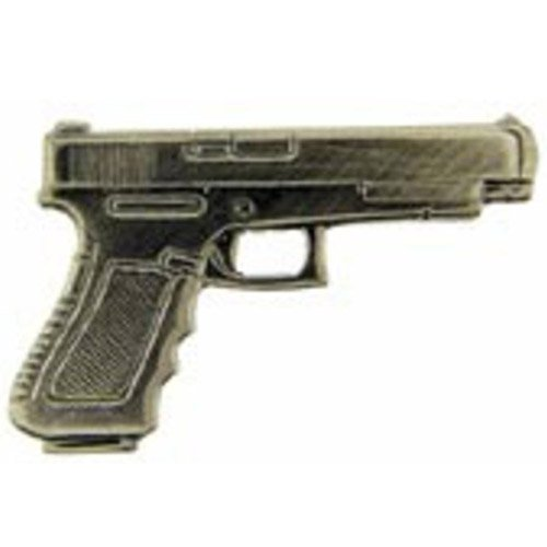 Eagle Emblems 40cal Pistol Gun Pin - 1 Inch