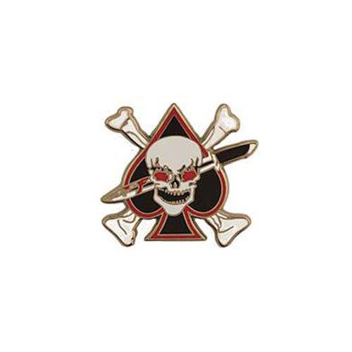 Pin 1 Inch Death Spade Skull