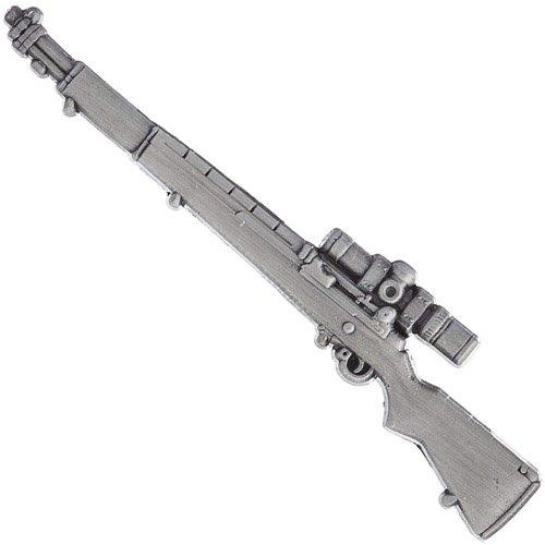 Eagle Emblems 2.5 Inch M1 Garand Sniper Rifle Pin