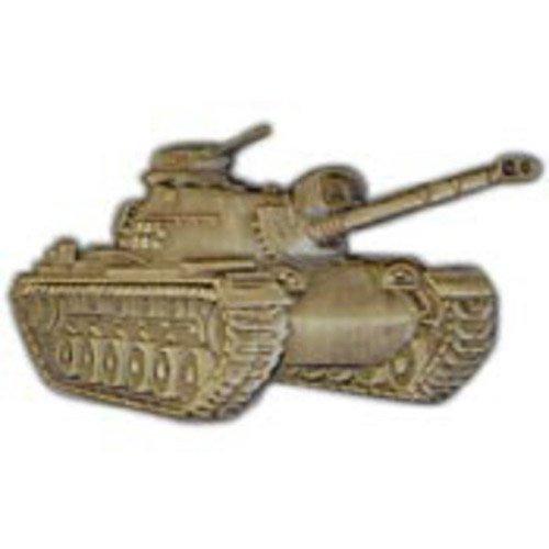 Eagle Emblem M48 Large Tank Pin - 2 Inch
