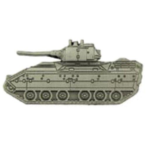 Eagle Emblem M2A1 Bradley Tank Pin - 2 Inch