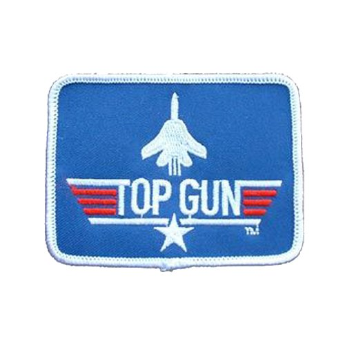 Top Gun 3 Inch Rectangle Patch