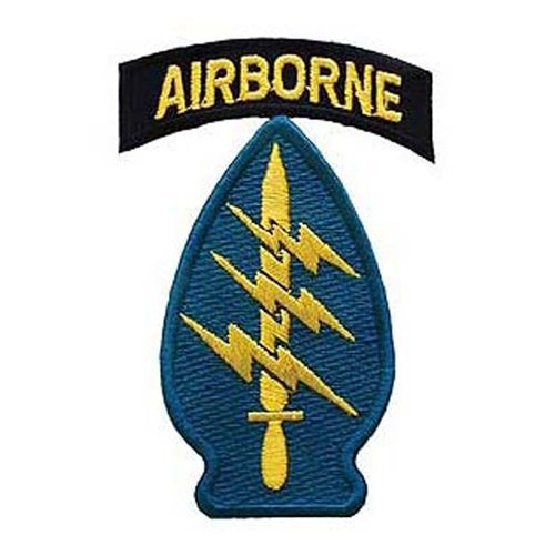 Eagle Emblems Airborne Special Forces Patch - 3 Inch