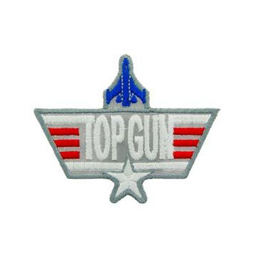 USN Top Gun Grey Patch - 3 Inch