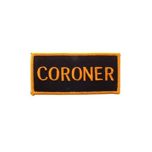 Patch Army Tab Coroner
