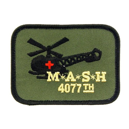 Mash 4077th Green/Black Patch