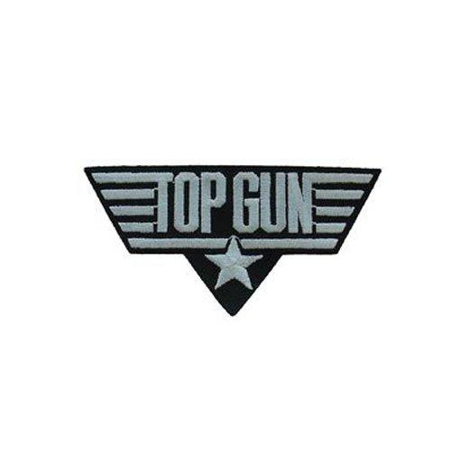 Top Gun White Patch - 3 Inch