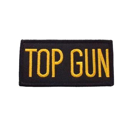 USN Tab Gun Tab Patch - 4 Inch