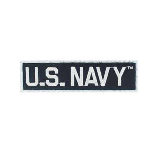 US Navy Tab Black/White Patch