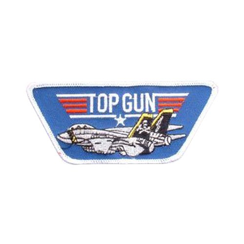 Top Gun With Jet USN Patch