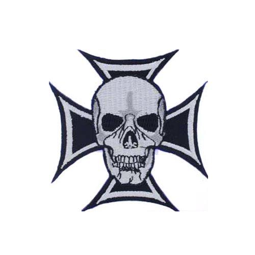 Skull & Iron Cross Patch