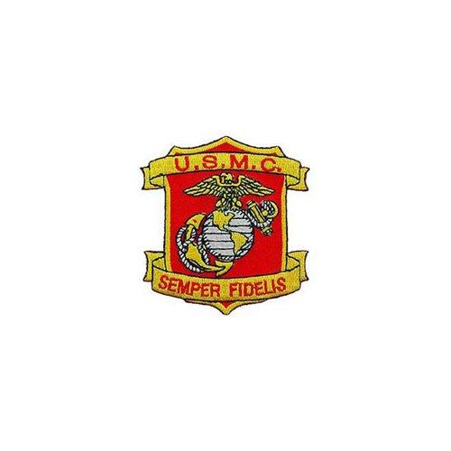 Patch USMC Semper Fidelis 3-1/4 Inch