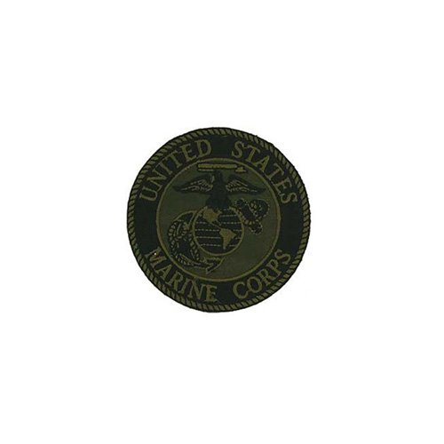 Patch USMC Logo 03d Subdued 3 Inch