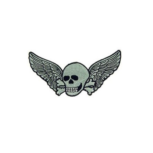 Patch Death Wings 4-1/4 Inch