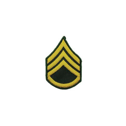 Patch Army E6 Staff SGT Pair Dress Green
