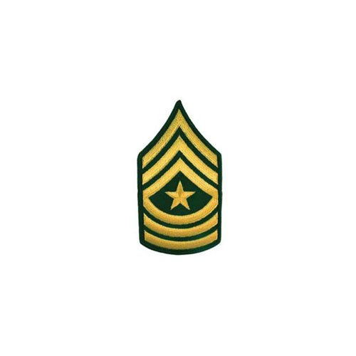 Patch Army E9 SGT Major Pair Dress Green