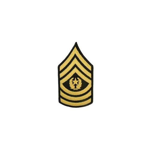 Patch Army E9 CMD SGT Maj Pair Dress Green