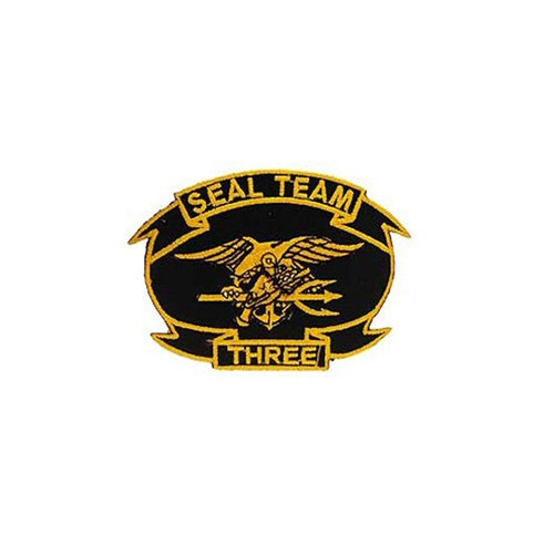 Patch Usn Seal Team 03 3-3/8 Inch