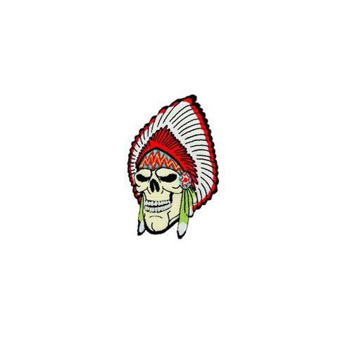 Patch Skull Chief 3-1/4 Inch