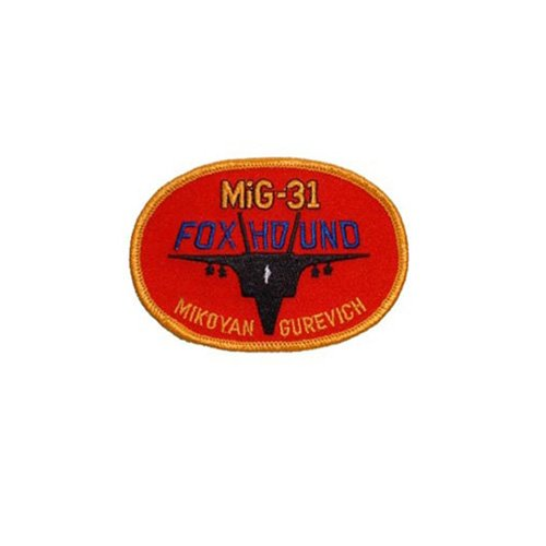 Patch Russian Mig Foxhnd 3-3/4 Inch