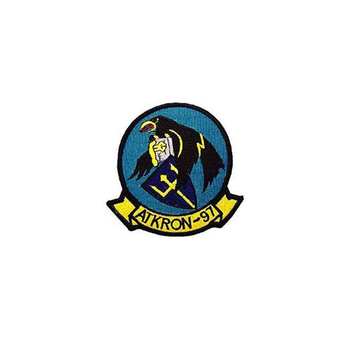 Patch Usn Atkron 97 3-3/8 Inch