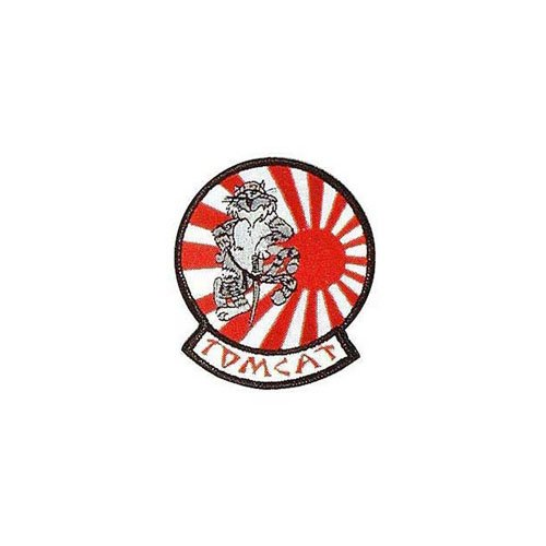 Usn Tomcat Japan 3-3/8 Inch Patch