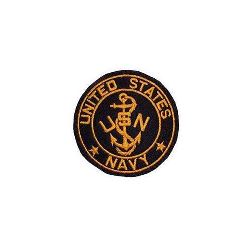 Usn Logo 3-1/4 Inch Patch