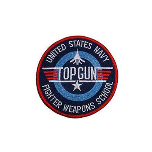 Patch Usn Top Gun Weap.Sc 3 Inch