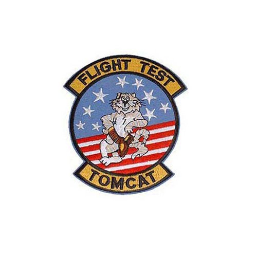 Usn Tomcat Flight T 3-1/2 Inch Patch