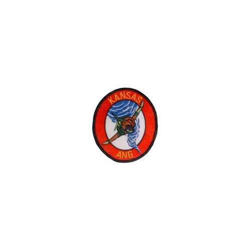 Patch Usaf Kansas Ang 3-1/2 Inch