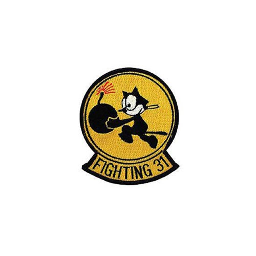 Patch Usn Fighting-31 3-3/8 Inch
