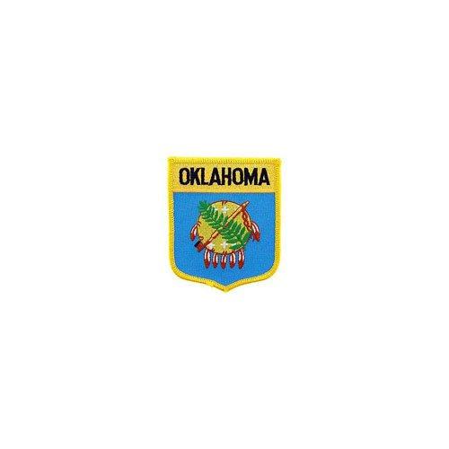 Patch Oklahoma Shield 2-7/8 Inch X3-1/2 Inch