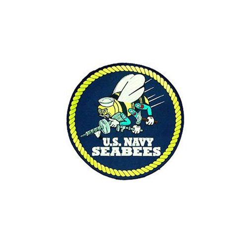 Patch Usn Seabees Logo 10 Inch