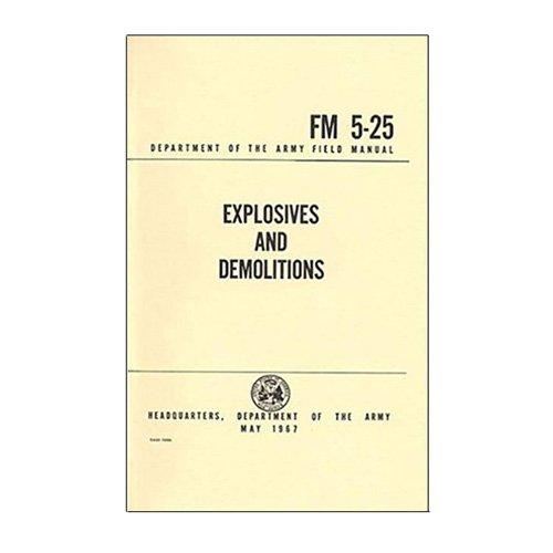 Explosives and Demolitions Handbook (FM 5-25)