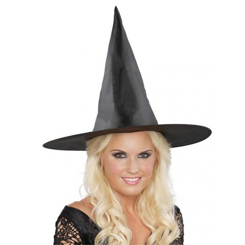 17 Inch Black Basic Witch Hat