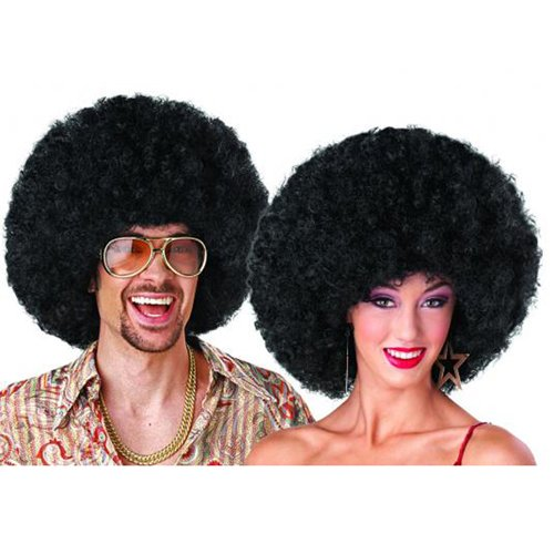 Deluxe Afro Black Wig