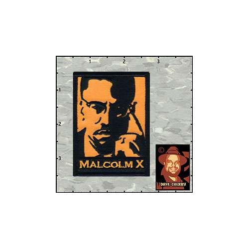 Dave Cherrys Malcolm X Patch