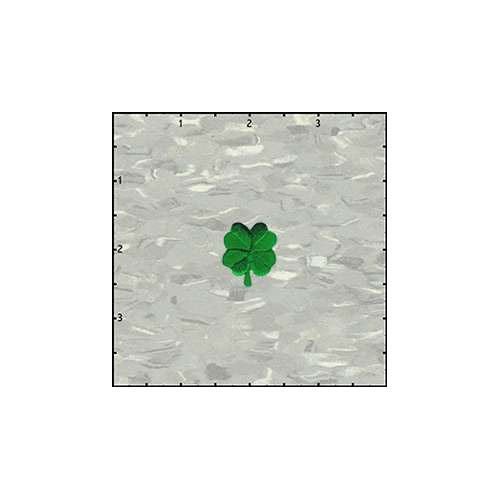 Four Leaf Clover 1 Inches Patch