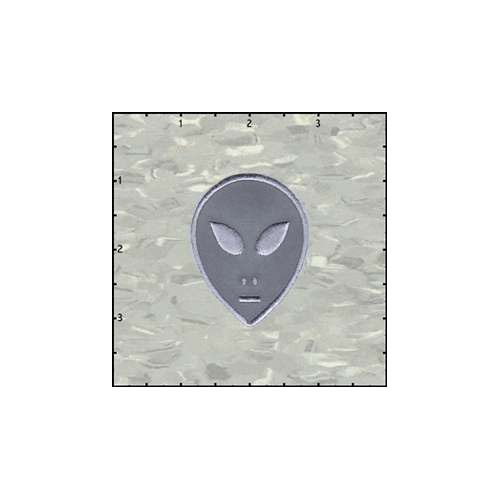 Alien Reflective Patch