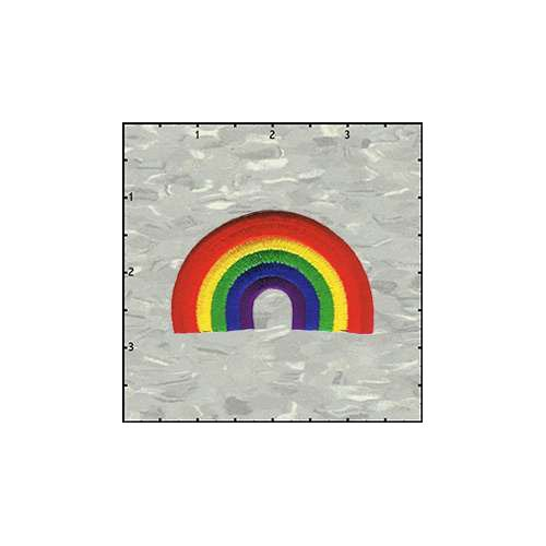 Rainbow 2.5 Inches Patch
