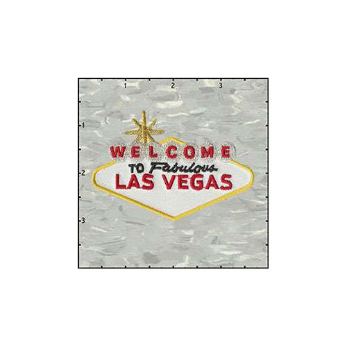 Welcome To Fabulous Las Vegas 3.5 Inches Patch