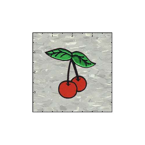 Cherries Duo Soft 2.5 Inches Patch