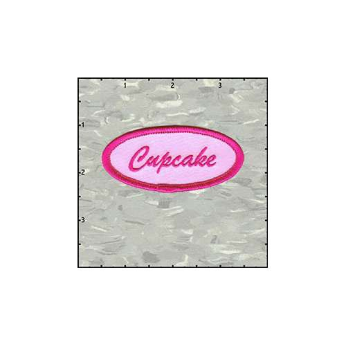Name Tag Cupcake Patch