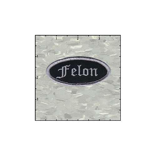 Name Tag Felon Patch
